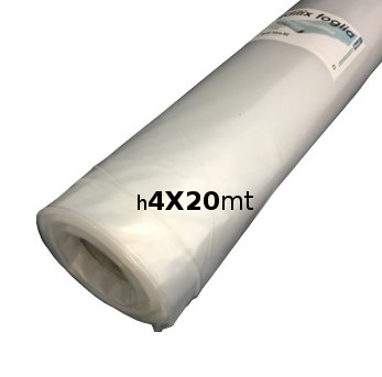 FOGLIA POLIETILENE EDILIX H4X20 100MY MTQ80 confezione da 2 PZ