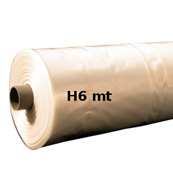 FOGLIA POLIETILENE H6 MTL NEUTRA 200MY rotolo da 50 KG