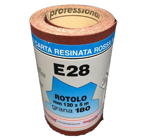 10 CARTA VETRATA E28 MM 120X5 MT GR180 SC.24 PZ € 70,90 +IVA
