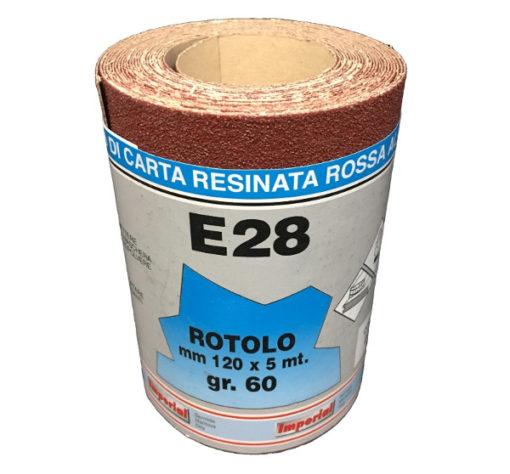 5 CARTA VETRATA E28 MM 120X5 MT GR060 SC.24 PZ