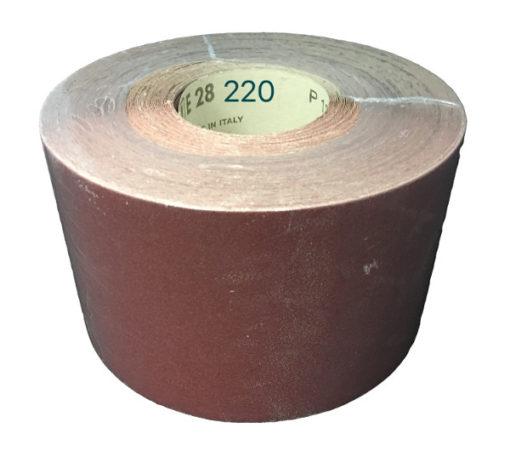 CARTA VETRATA ROTOLONE E28 MM 120X50 MT GR0220 SCATOLA DA 200M (4RT DA 50MT)