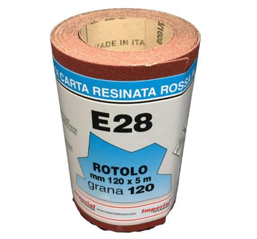 CARTA VETRATA E28 MM 120X5 MT GR120 SC.24 PZ
